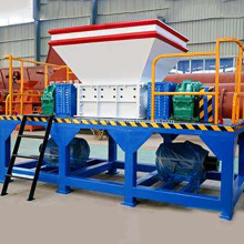 Heavy Duty Shredding Machine Tyre Shredder For Sale